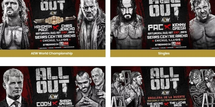 AEW All Out live stream BR Live