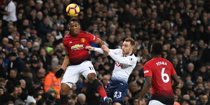 anthony martial paul pogba premier league manchester united