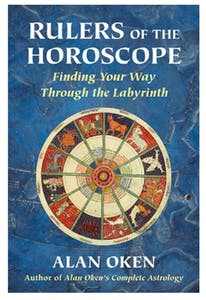 """Cover of """"Rulers of the Horoscope: Finding your Way Through the Labyrinth"""" by Alan Oken."""