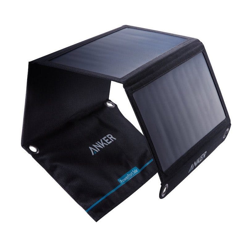 best solar powered-phone chargers - anker powerport