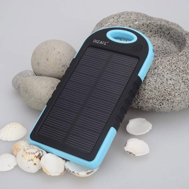 best solar-powered phone chargers - dizual solar power bank
