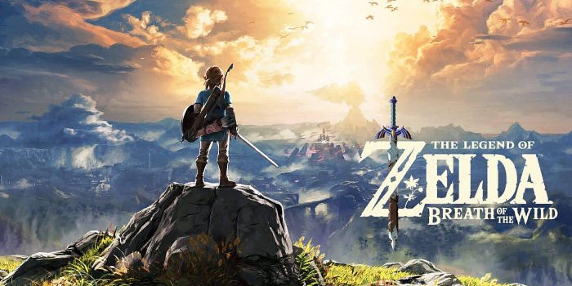 best action adventure games legend of zelda breath of the wild