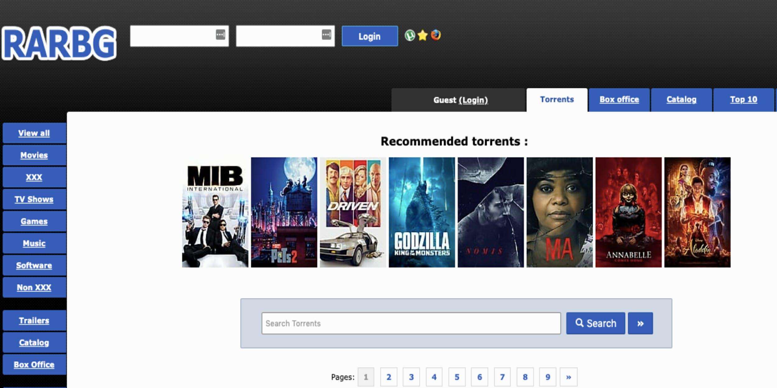 best torrenting sites 2019 rarbg