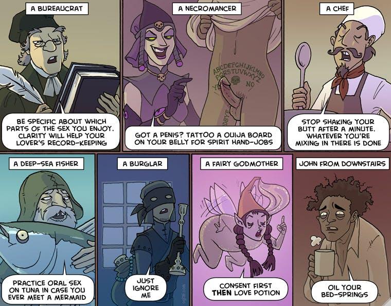 best webcomics - Oglaf