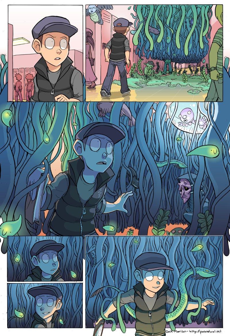 best webcomics - Paranatural panel