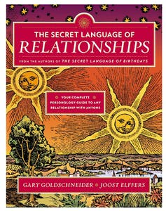 """Cover of the book """"The Secret Language of Relationships"""" by Gary Goldschneider and Joost Elffers"""