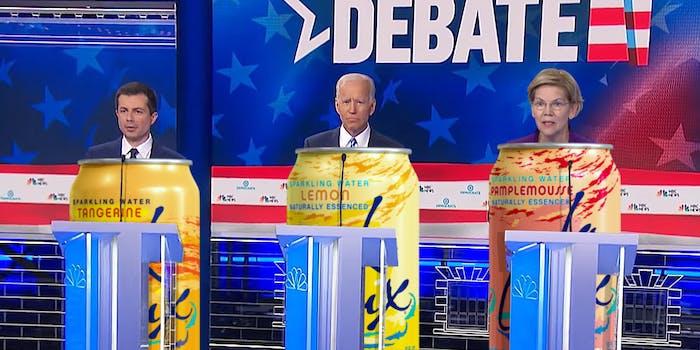 democratic candidates as lacroix flavors