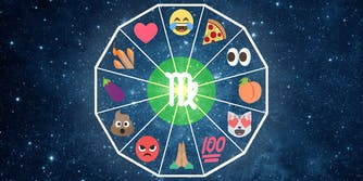 emoji horoscope virgo