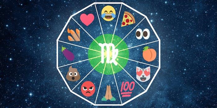 emoji horoscope virgo