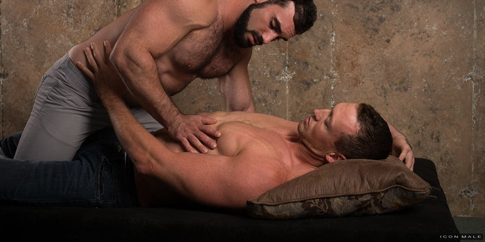 gay muscle porn - icon male