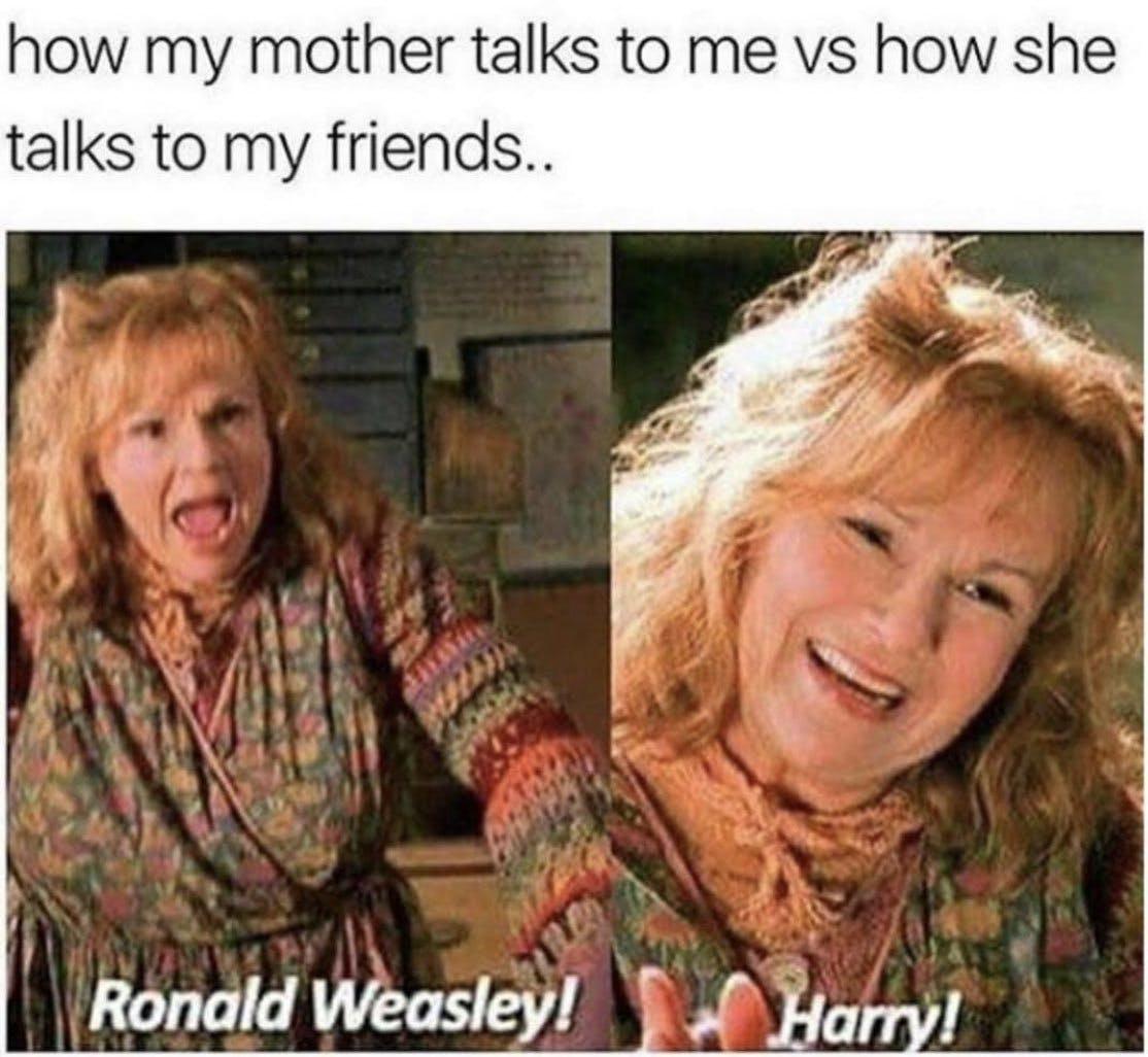 Harry Potter memes - Weasley