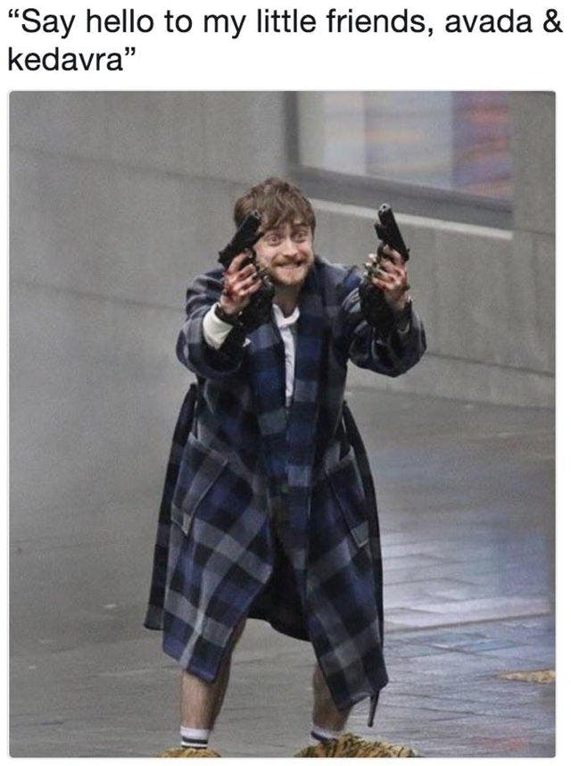 Harry Potter memes - little friends