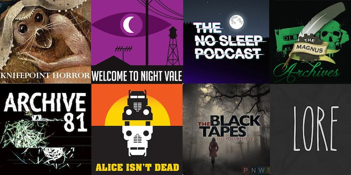 horror podcasts