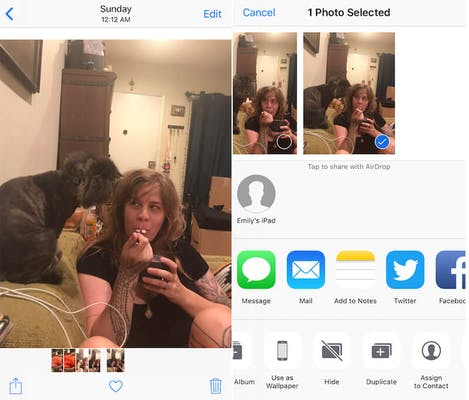 how to hide photos on your iphone - photos