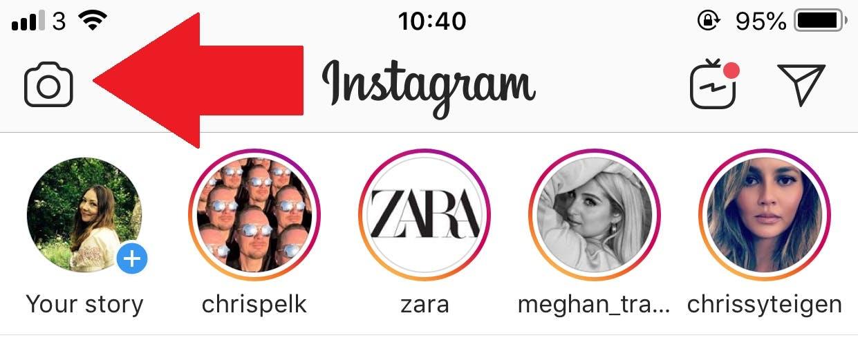 unlock Instagram filters - stories