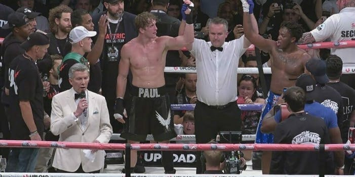 Logan Paul vs KSI rematch YouTube boxing