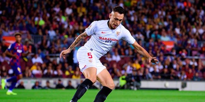 Lucas Ocampos of Sevilla FC: Europa League Final Live Stream