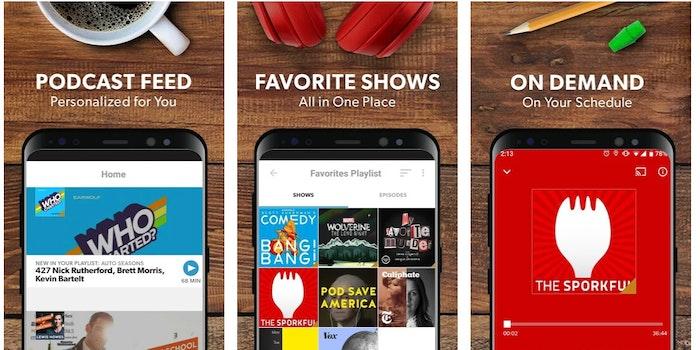 stitcher podcasts google play