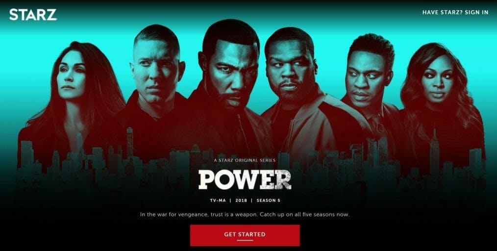 watch power live stream season 6 starz