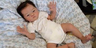 reborn doll fake baby