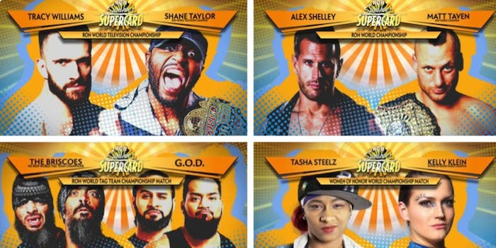 Ring of Honor Summer Supercard live stream Fite TV