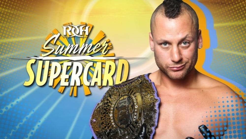 Ring of Honor Summer Supcercard live stream <span class=