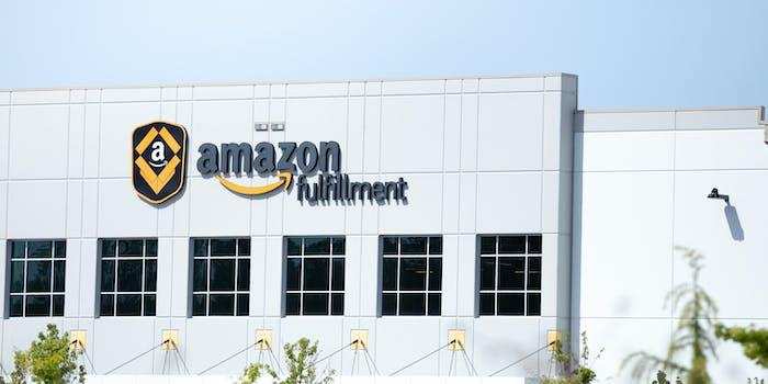 amazon fulfillment center twitter meme