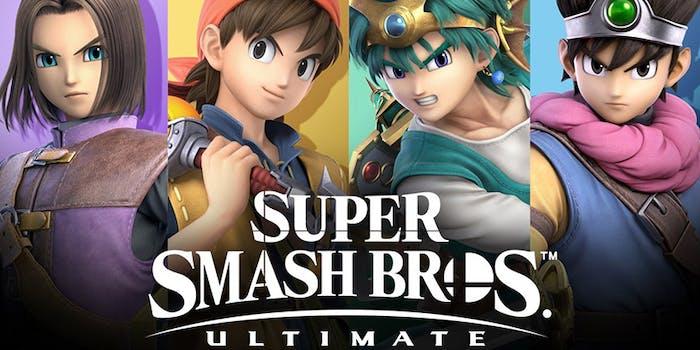 super smash bros ultimate hero