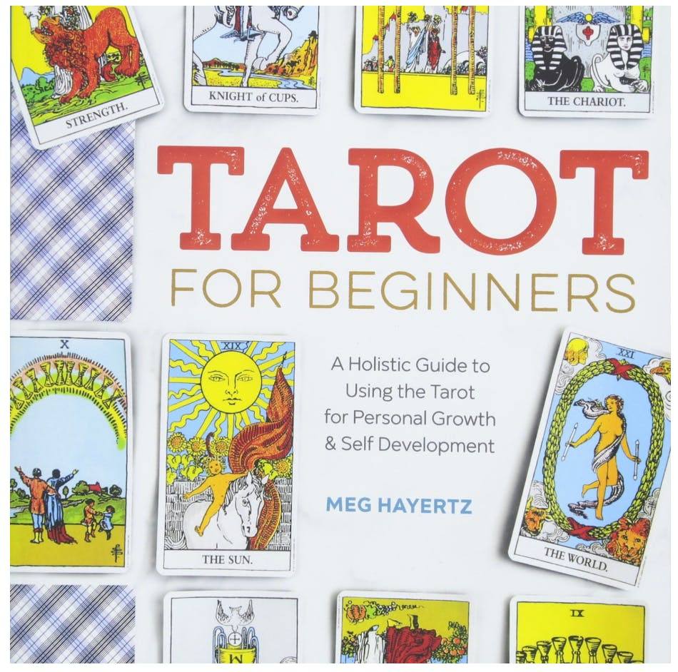 """Cover of the book """"Tarot for Beginners: A Holistic Guide to Using the Tarot for Personal Growth and Self Development."""""""
