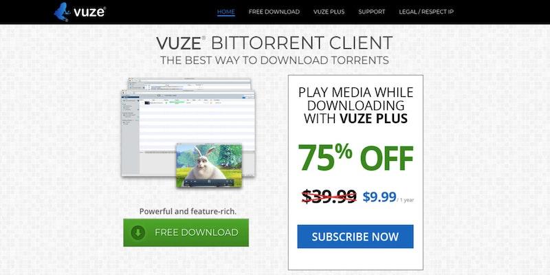 torrent downloader vuze