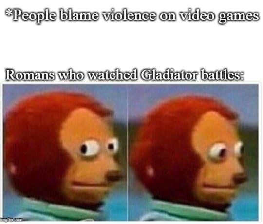 video game violence memes