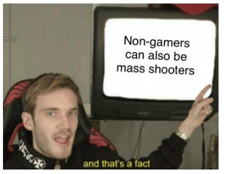 pwediepie video game violence meme