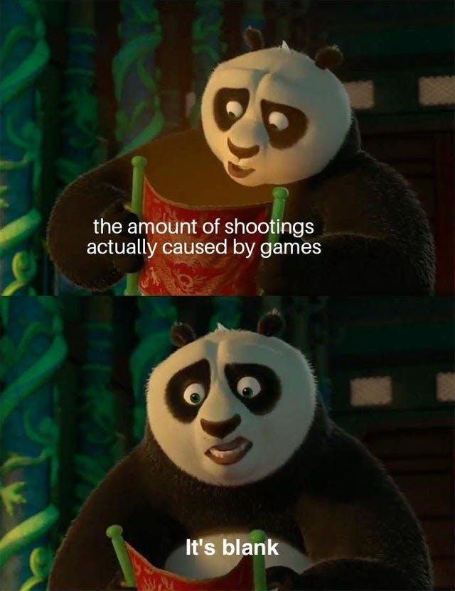 kung fu panda video game violence memes