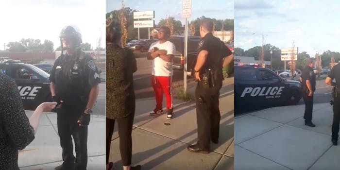 police-stop-black-man-for-looking-at-white-woman