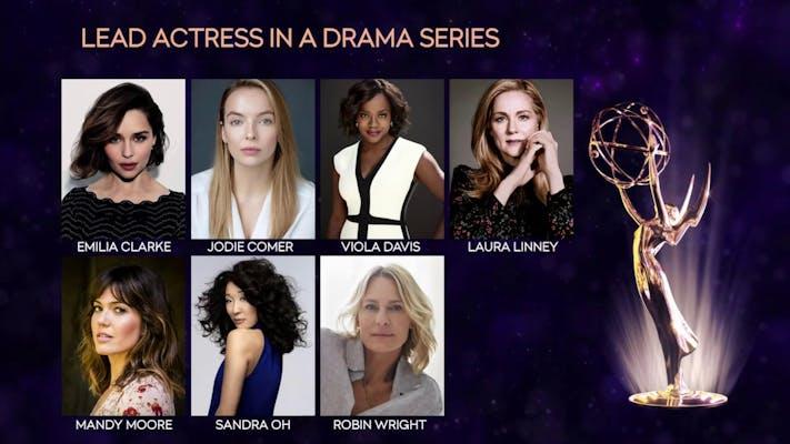 2019 Emmy award nominations