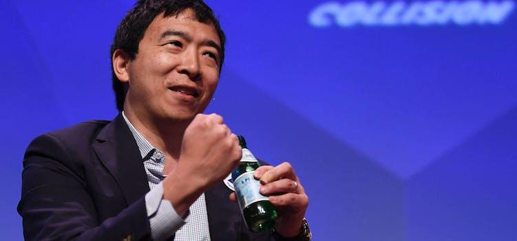 Andrew Yang Debate Surprise