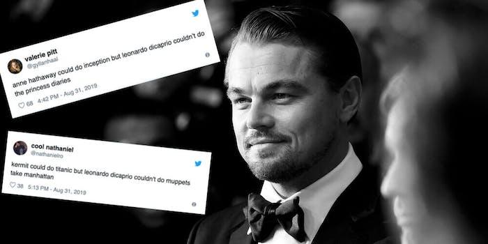 Could do couldn't do meme - Leonardo Dicaprio