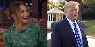 Donald Trump Chrissy Teigen John Legend