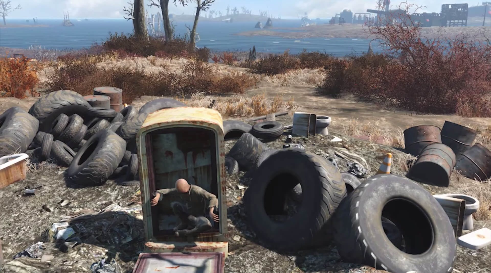 Kid in a fridge - Fallout 4 secrets