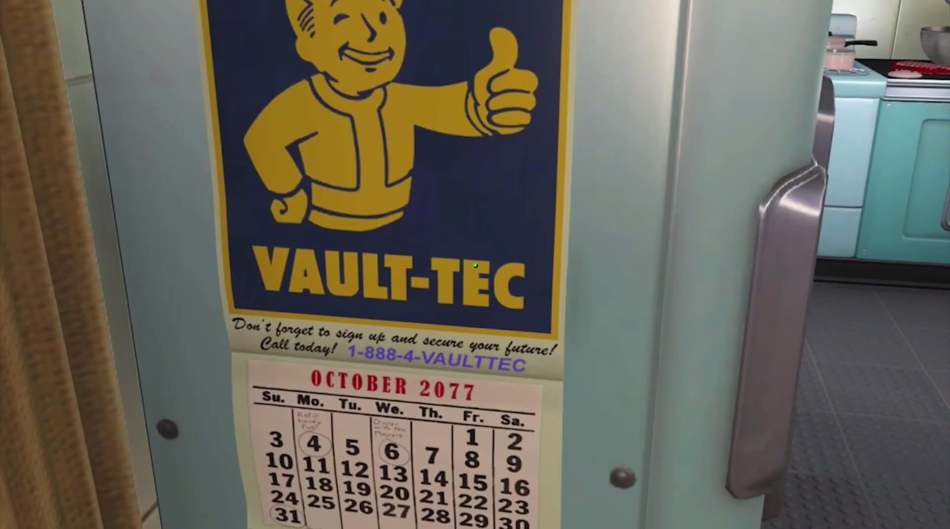 Fallout 4 secrets - Vault Tec phone number