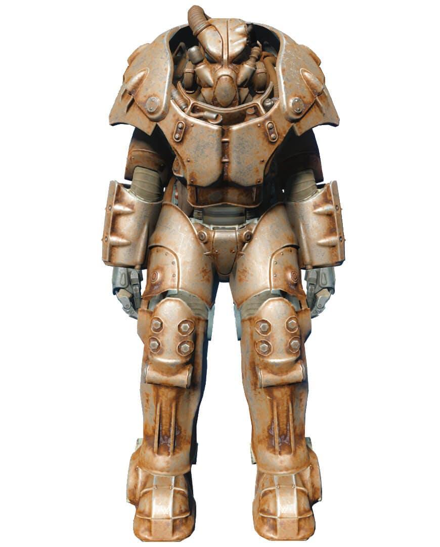 x-01 Power Armor - Fallout 4 secrets