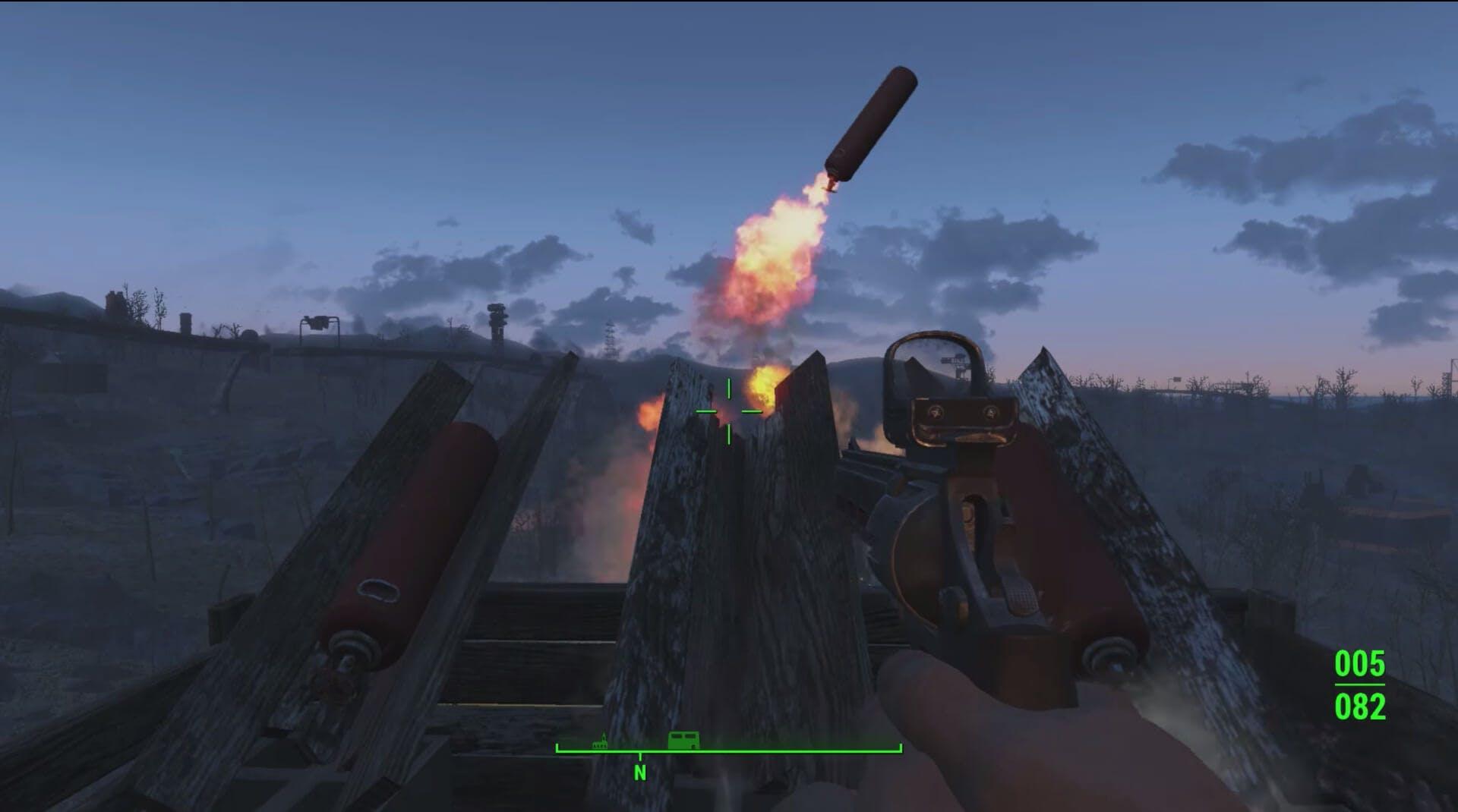 Fireworks - Fallout 4 secrets