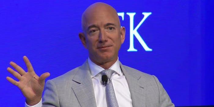 Jeff Bezos Amazon Facial Recognition