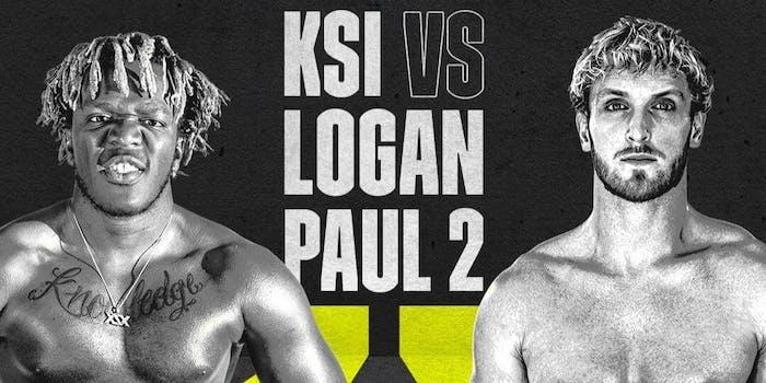 ksi vs logan paul rematch dazn