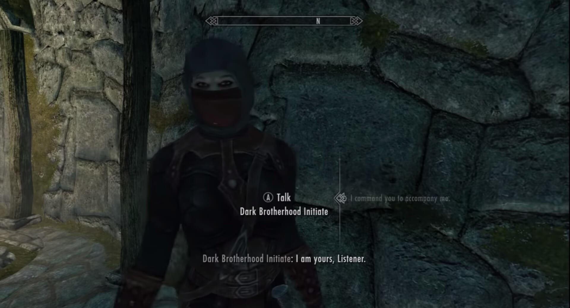 Dark Brotherhood Initiate skyrim followers