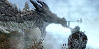Skyrim races - dragon