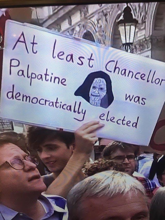 funny Star Wars memes - Palpatine