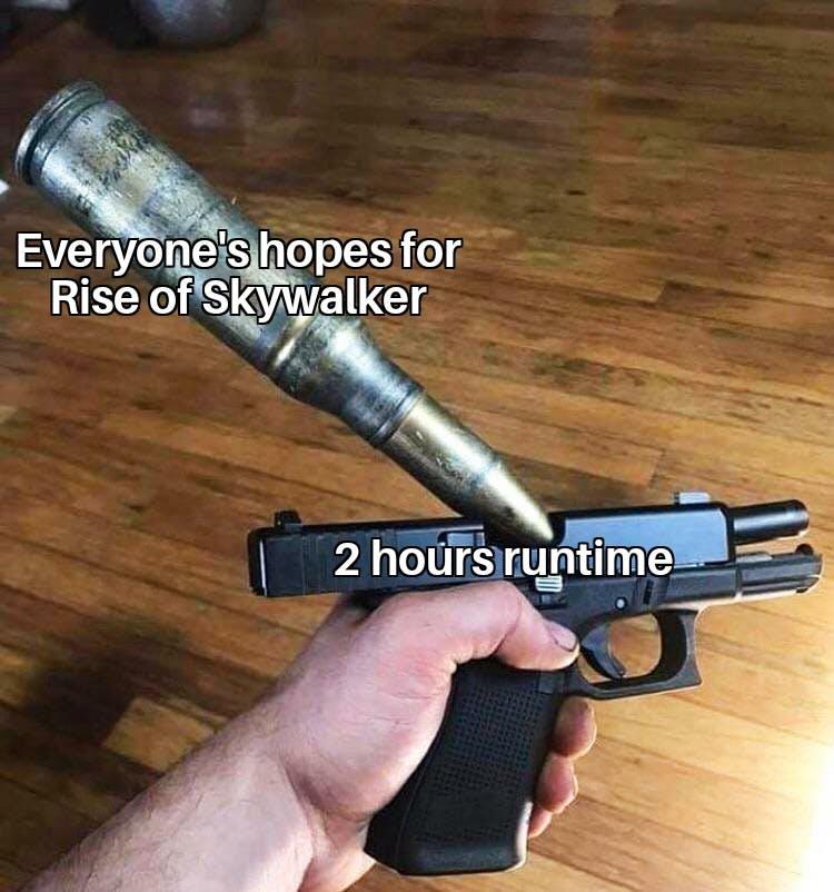 funny Star Wars memes - Rise of Skywalker