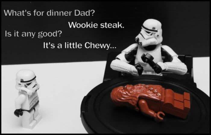 funny Star Wars memes - Chewie
