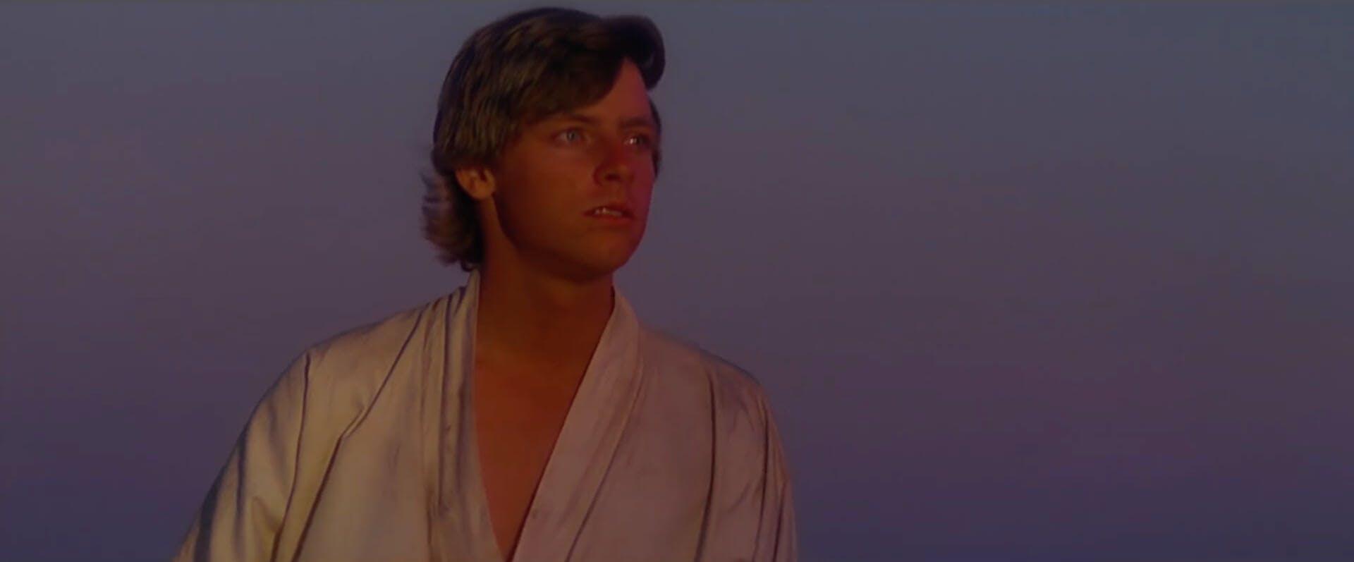 A New Hope - Luke Skywalker star wars movies